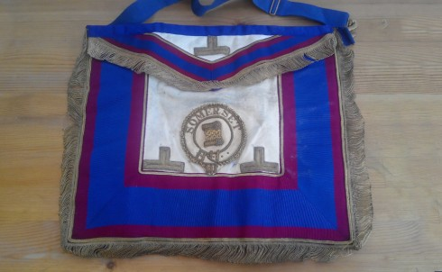 Masonic apron (3)