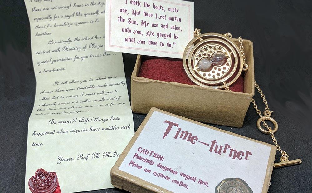 Hermione Granger s time turner necklace – Morbitorium